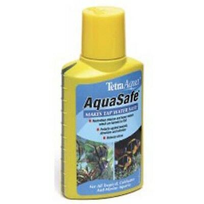 Tetra Aqua Safe Aquarium Treatment Coldwater Tap Safe Conditioner 100ml