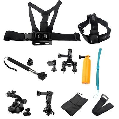 Head Chest Mount Floating Monopod Pole for GoPro Camera 1 2 3 3+ 4 Accessories
