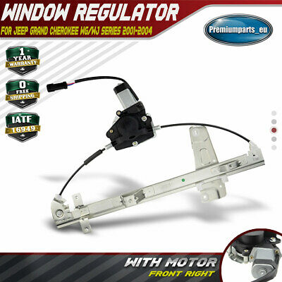 Window Regulator for Jeep Grand Cherokee 2001-2004 WG WJ With Motor Front Right