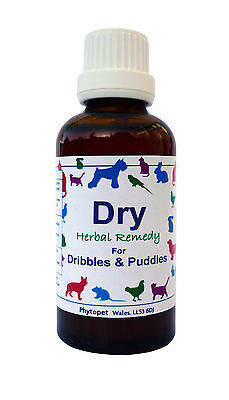 Phytopet Dry, for incontinence of dogs, cats etc
