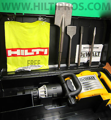 DEWALt  SDS MAX DEMO. HAMMER , HILTI TE 3000, NEW , HEAVY DUTY ,  MADE IN EUROPE