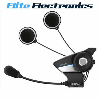 Sena 20S Evo Single Motorcycle Intercom Bluetooth 4.1 Headset 2.0 Km Range