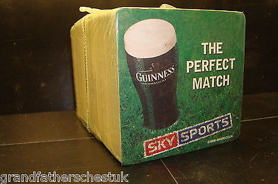 Guinness Advertising Collectable Rare Genuine Retro Beer Mat Vintage Pack New