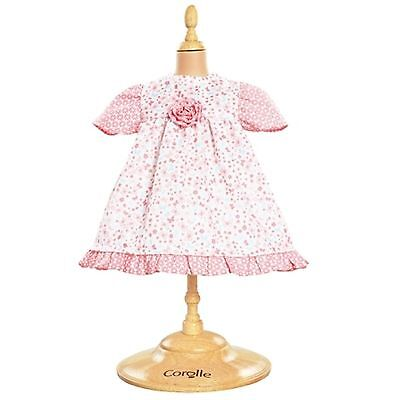 """Corolle 14"""" LES CLASSIQUES CANDY FLOWER DRESS for Baby Dolls Poupon NEW France"""