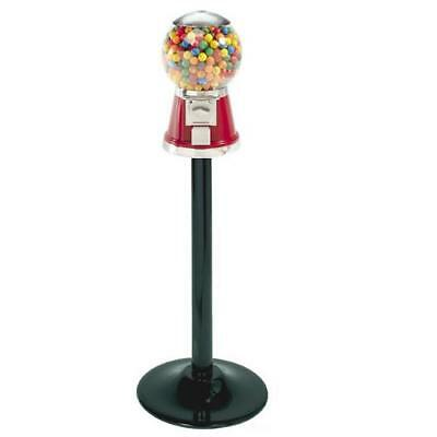 Classic Bubble Bulk Gumball/Candy Machine and stand - RED