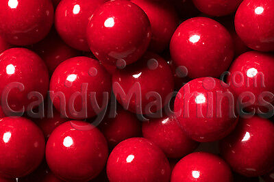Red Gumballs 2lb FRESH 100ct Cherry gumballs red candy