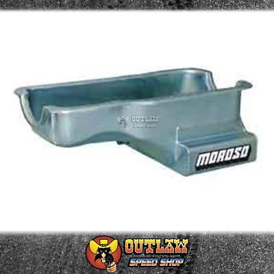 "Moroso Oil Pan Ford Windsor 289-302 8"" Deep Front Sump 6.6 Ltr - Mo20502"