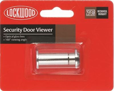 Lockwood Door Viewer 160CPDP 160 Degree Glass Lens Fire Rated CP GST Receipt