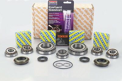 Alfa Romeo Fiat Opel Vauxhall M32 M20 Uprated SNR Gearbox Kit 7 Bearings & Seals