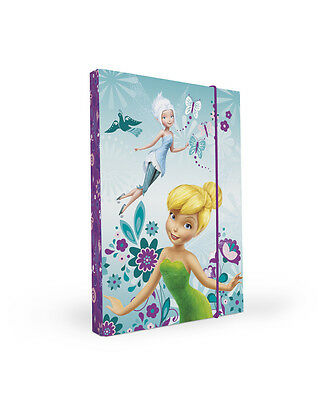PP124 Disney Fairies TinkerBell Heftbox A4 A5 Heftmappe Sammelbox Box 2014
