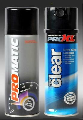 Car Vehicle Basecoat Paint ANY COLOUR + Clearcoat Lacquer Repair Kit