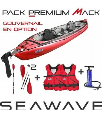 Pack kayak de mer gonflable GUMOTEX SEAWAVE 2 PLACES