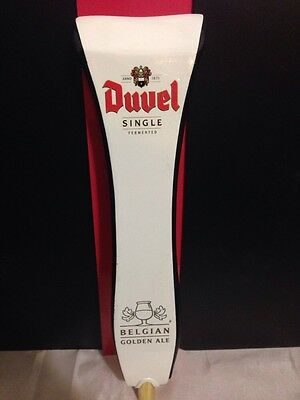 DUVEL SINGLE FERMENTED BELGIAN GOLDEN ALE TAP HANDLE Free Shipping,Rare, Cave,