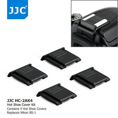 JJC 4 PCS Hot Shoe Cover for Nikon D850 D810 D800 D750 D700 D7200 D3400 D3300
