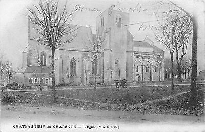 16 CHATEAUNEUF l'eglise