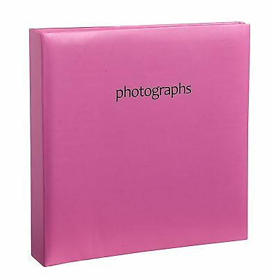Arpan Hot Pink Memo Slip In Case Girls Photo Album 200 6 x 4 Photos SM2PK -