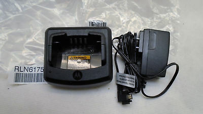 Motorola Rln6175A Rdx Series Standard Battery Charger With Rpn4054A Adapter New