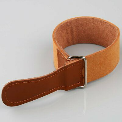 Professional Barber Shaving Genuine Leather Strop Straight Razor Sharpener Strap