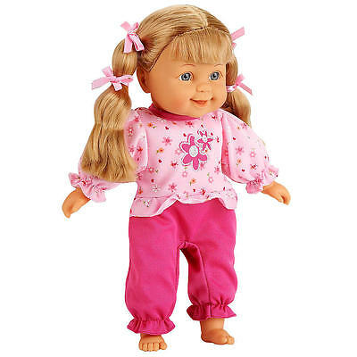 You & Me 12 inch Doll - Caucasian - Blonde Pigtails with Pink Outfit