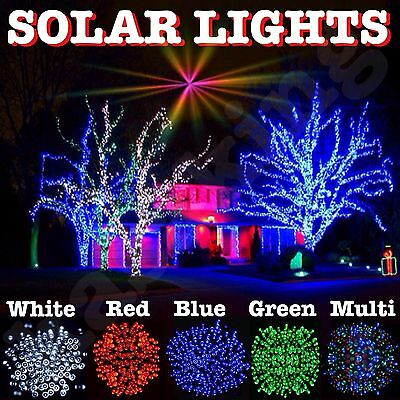 Solar Fairy Christmas Lights Genuine Kasa 100 200 Led String Lights Garden Patio