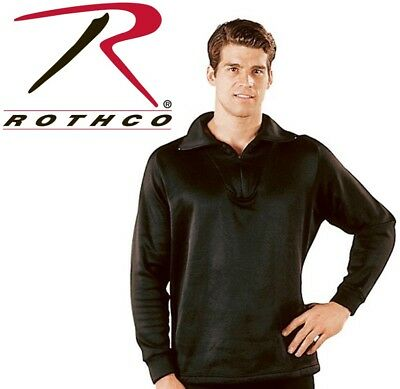 Black Military ECWCS Cold Weather Thermal Polyester H.W. Top Only Rothco 6240