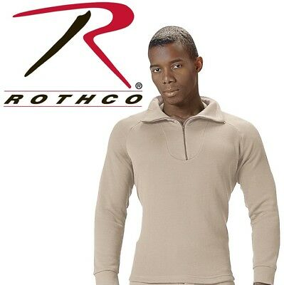 Desert Military ECWCS Cold Weather Thermal Polyester H.W. Top Only Rothco 5425