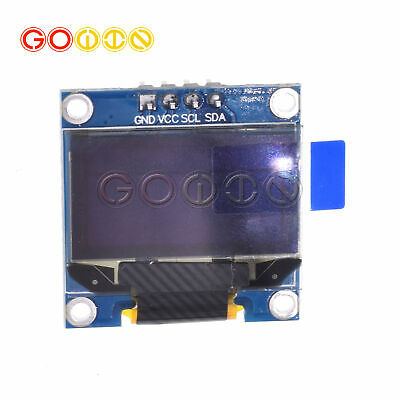 "5PCS Yellow Blue 0.96"" IIC I2C 128X64 OLED LCD Display Module Arduino/STM32"