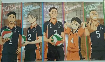 Haikyuu!! Official Charater Posters x1