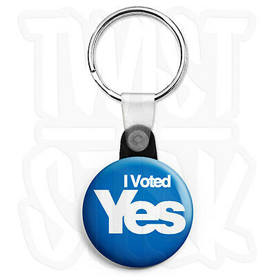 I Want Yes for EU and Scottish Independence 25mm Button Badge Europe Referendum