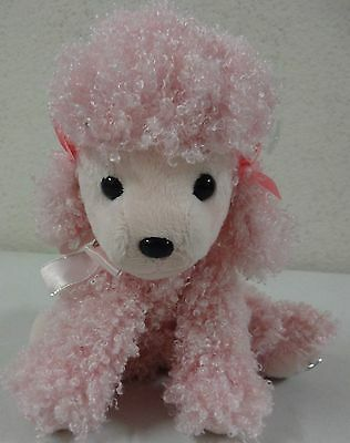 """Russ Shining Stars Pink Poodle Plush 8"""" NEW with Tags! Includes Star Naming"""