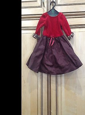 American Girl Doll of Today Retired 2005 Chocolate Cherry Outfit Dress ONLY