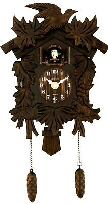 Acctim Hamburg Cuckoo Clock Antique Bronze