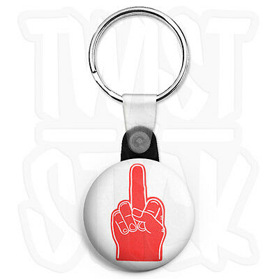 Zip Pull Option 25mm Skinhead Ska Keyring Button Badge Bad Manners Logo