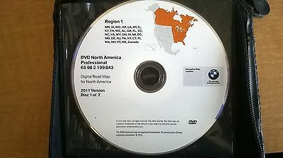 BMW 2011 North America Professional Navigation Disc 1