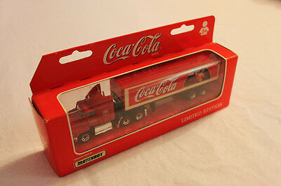 Coca Cola Matchbox - Limited Edition - 1998 - Brand New - Free Fast Shipping!