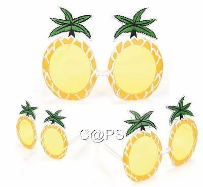 Pineapple glasses...Hawaiian...Tropical...Luau...Cocktail Party Sunglasses