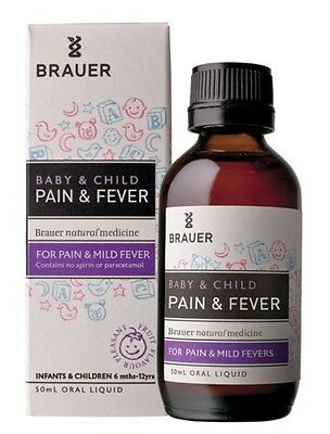 Best Price! Brauer Baby & Child Pain And Fever 50Ml Discount Chemist