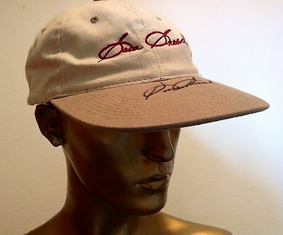 Sam Snead Personally Autographed Cap At Shinnecock Hills Golf Club
