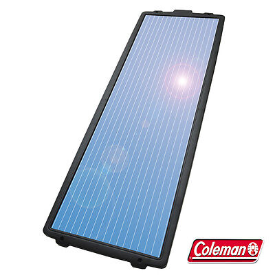 Coleman 18 Watt 12V Solar Battery Charger with  7.5 amp Charge Control Free Ship