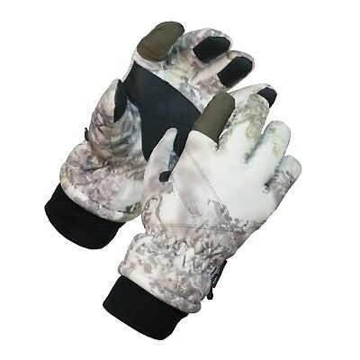 Kings Camo Snow Shadow Insulated Waterproof Hunting Gloves KCG5100 size M L XL