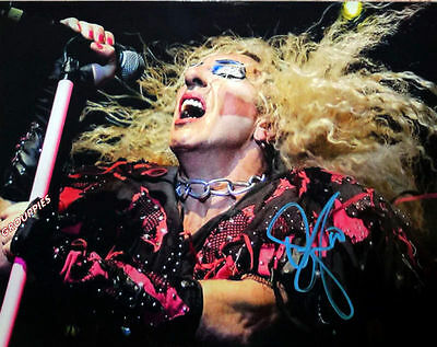 TWISTED SISTER, DEE SNIDER SINGER 8x10 photo RP