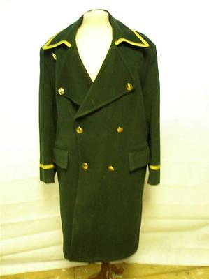 Dark Green Traditional Livery Man Carriage Coat Made By Joseph Alan in London