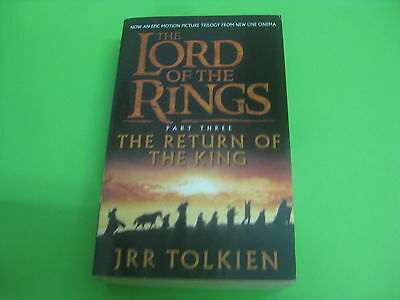 Libro The Lord Of The Rings ( Part Three ) - J.R:R Tolkien Ingles