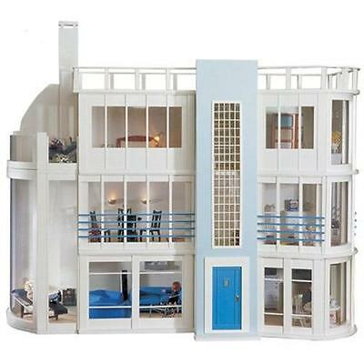 Malibu Beach Luxury Dolls House Kit by Dolls House Emporium 0909