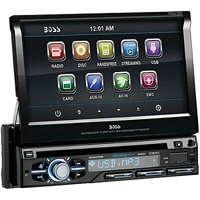 Boss Audio Bv9979b 7 Single-din In-dash Flip-up Dvd Receiver With Bluetooth
