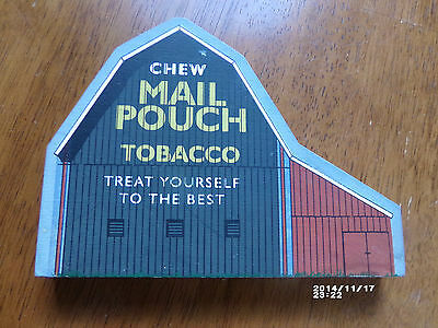Pre-owned Heritage Barn Collection Mail Pouch Tobacco Ad on Barn