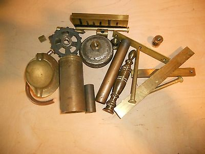 Brass odds and ends for benchtop machining