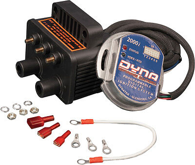 Dynatek - D2KI-4P - 2000i Ignition and Coils Kit - Dual Fire/Dual Plug Kit