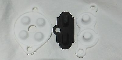 Nintendo NES Controller Repair Kit [Replacement Conductive Pads] Lot of 2