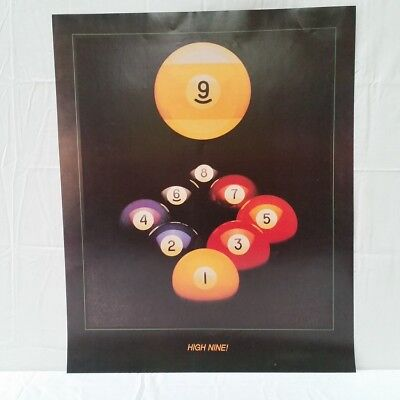 High Nine Ball POSTER